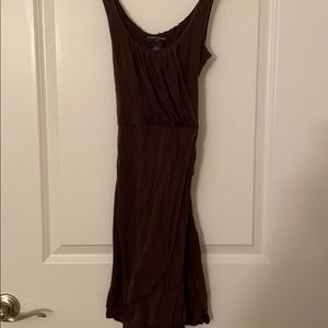 Brown summer dress